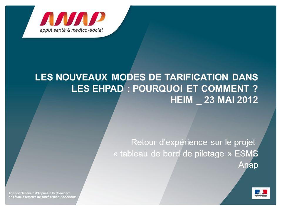 les nouveaux modes de tarification dans les EHPAD : pourquoi et comment HEIM _ 23 mai 2012