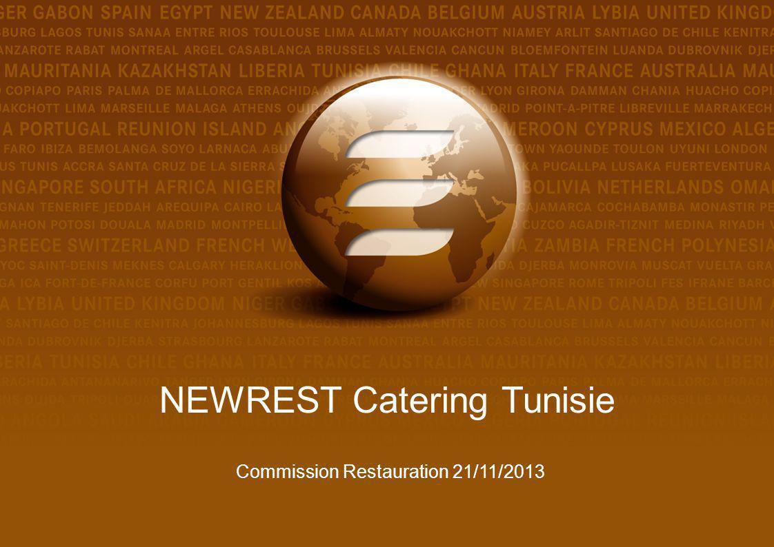 NEWREST Catering Tunisie