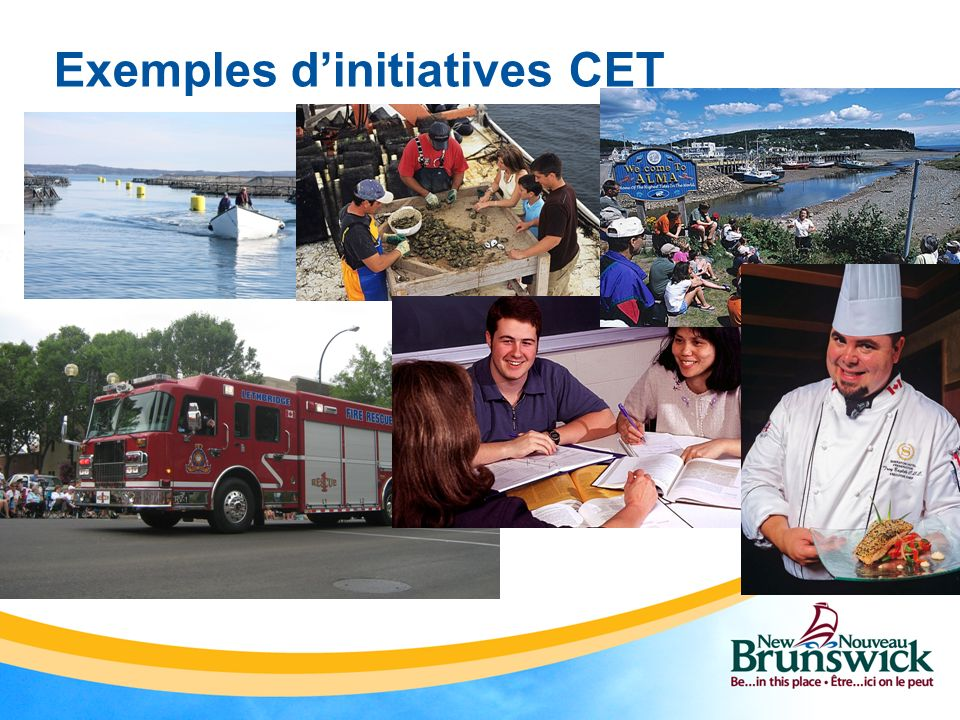 Exemples d'initiatives CET