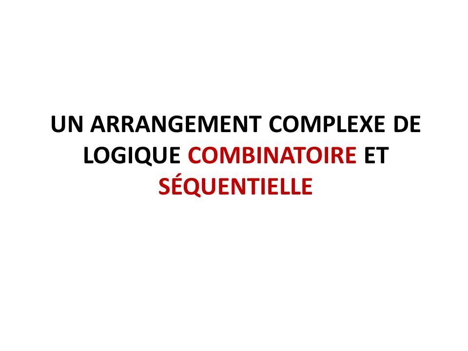 Un arrangement complexe de logique combinatoire et séquentielle