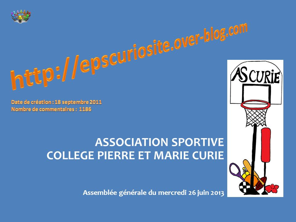 http://epscuriosite.over-blog.com ASSOCIATION SPORTIVE