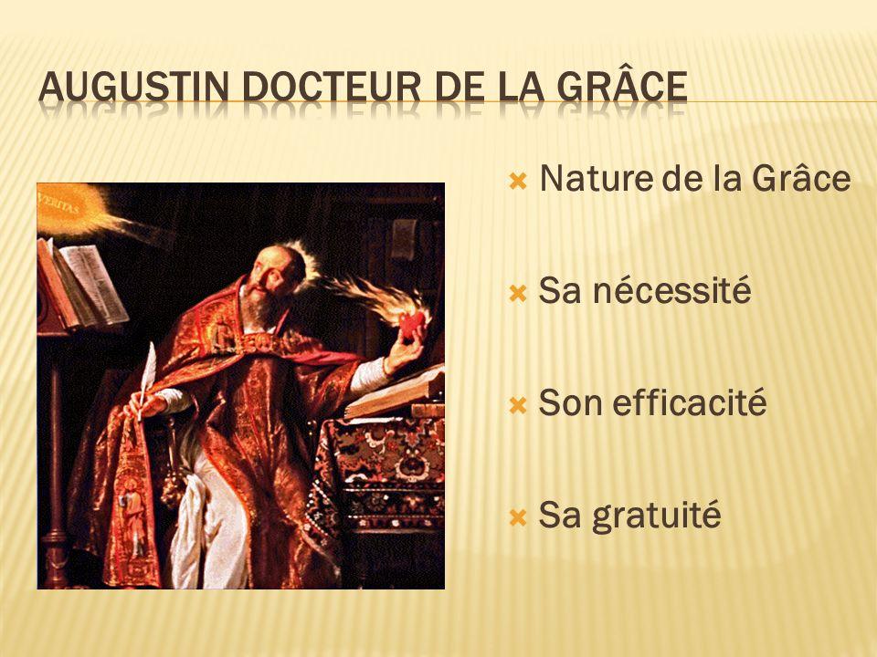 Augustin docteur de la grâce