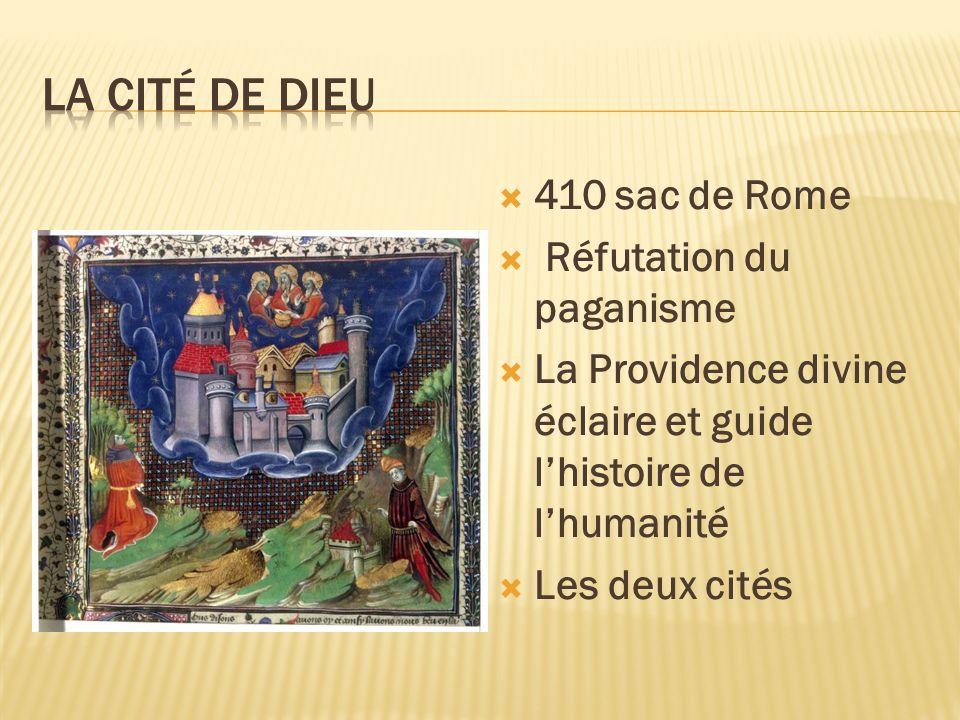 La cité de dieu 410 sac de Rome Réfutation du paganisme