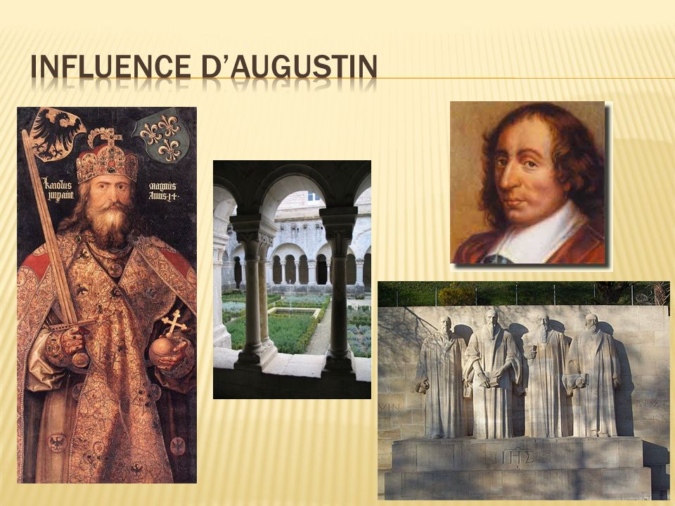 Influence d'augustin