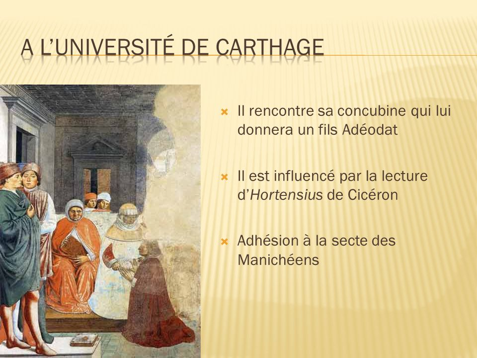A l'université de Carthage