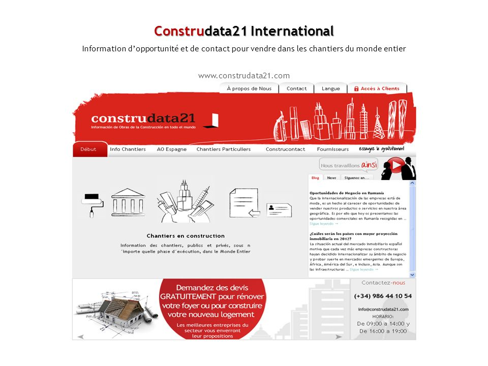Construdata21 International