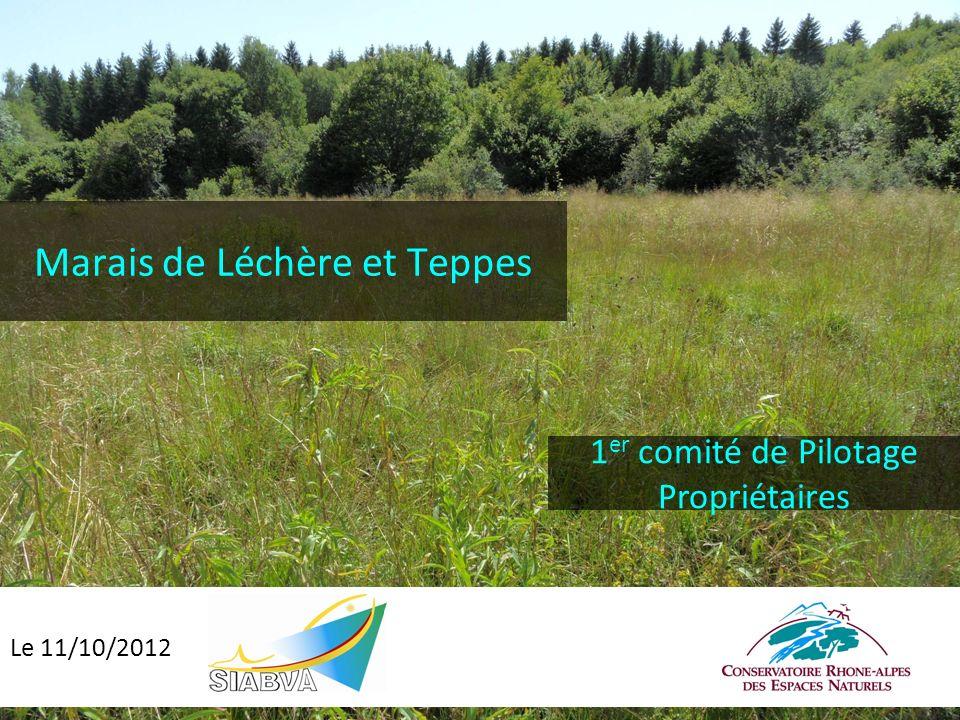 Marais de Léchère et Teppes