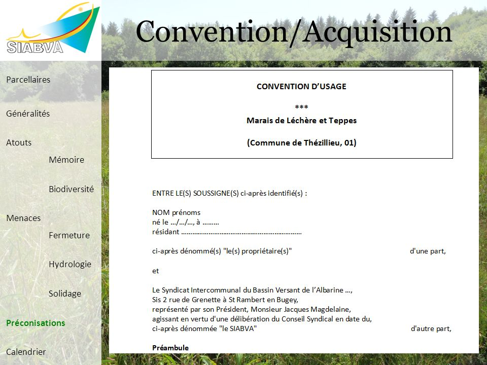 Convention/Acquisition