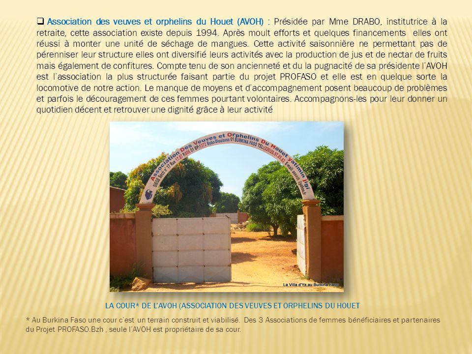 La Cour* de l'AVOH (association des veuves et orphelins du Houet