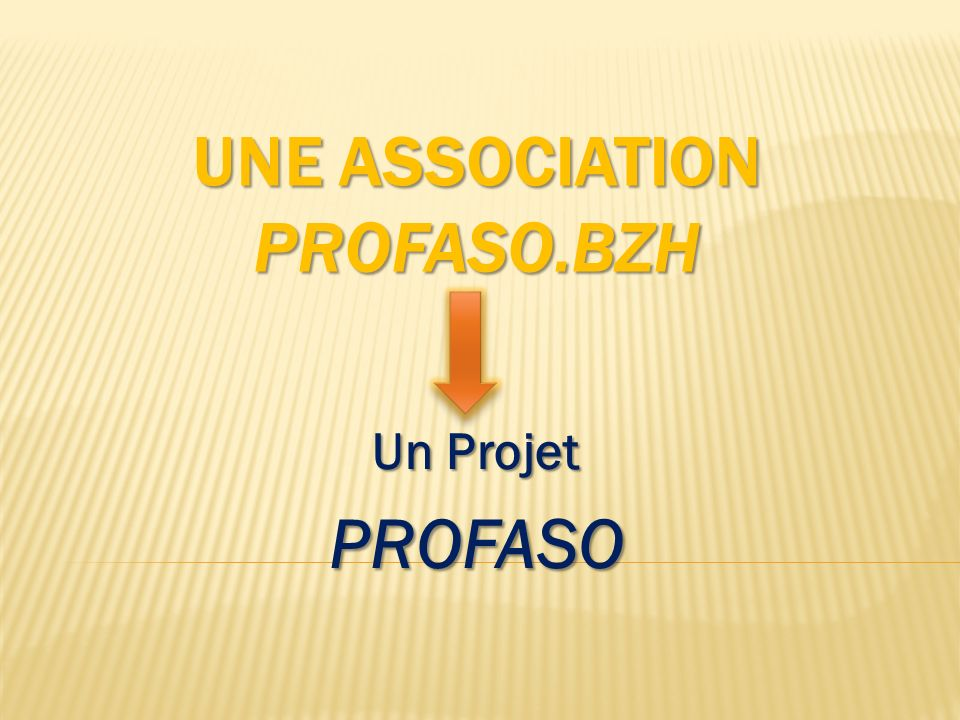 Une Association Profaso.BZH