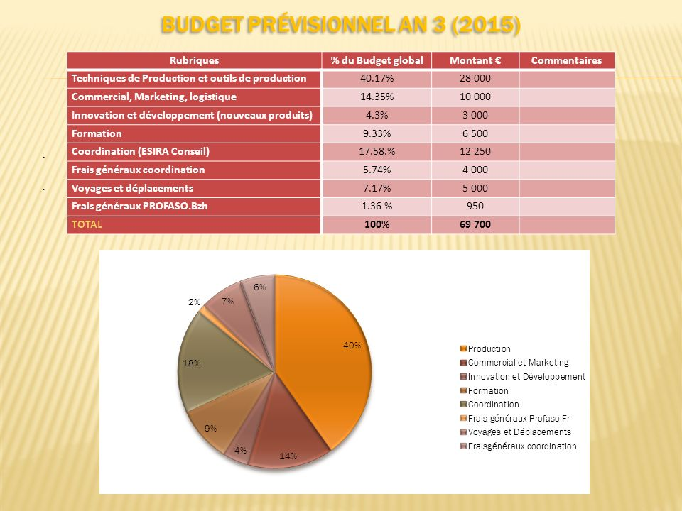 Budget prévisionnel AN 3 (2015)