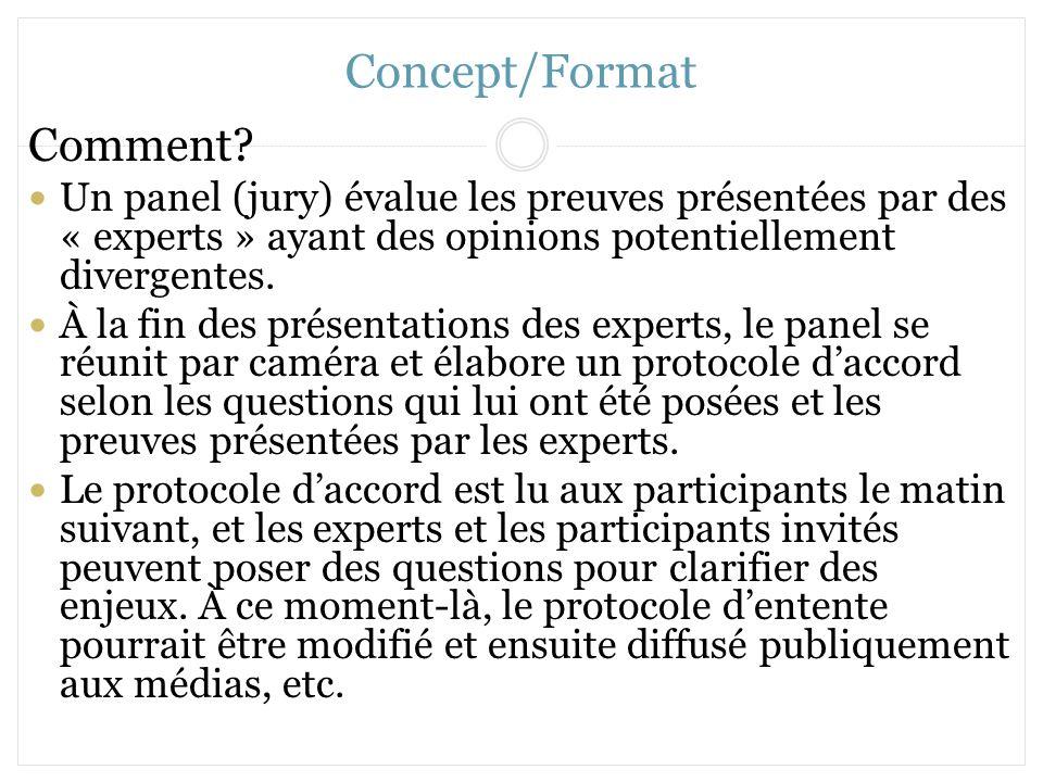Concept/Format Comment