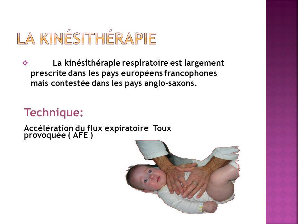 la kinésithérapie Technique: