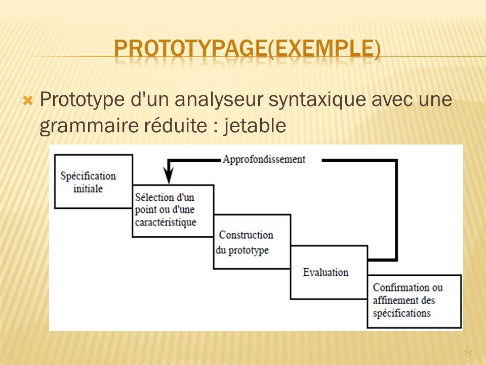 Prototypage(exemple)