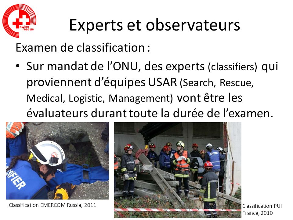 Experts et observateurs