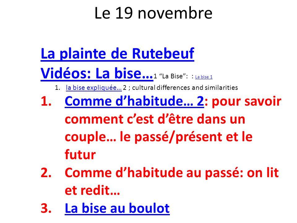 la bise expliquée… 2 ; cultural differences and similarities