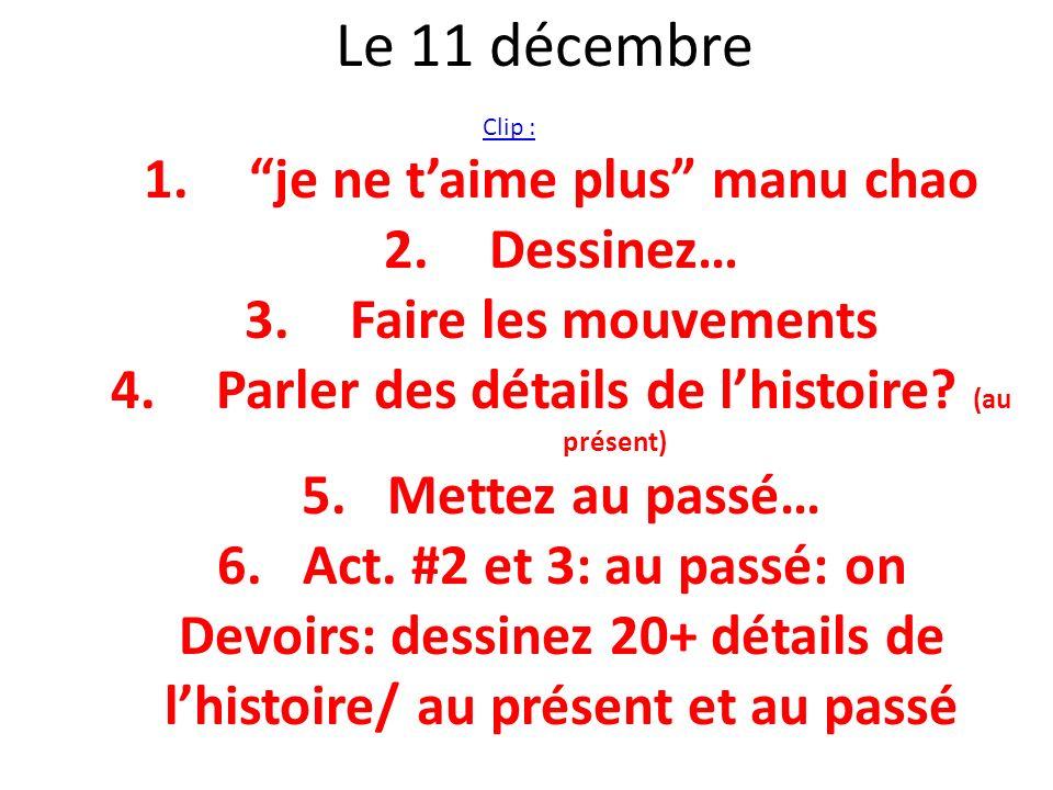 Le 11 décembre je ne t'aime plus manu chao Dessinez…