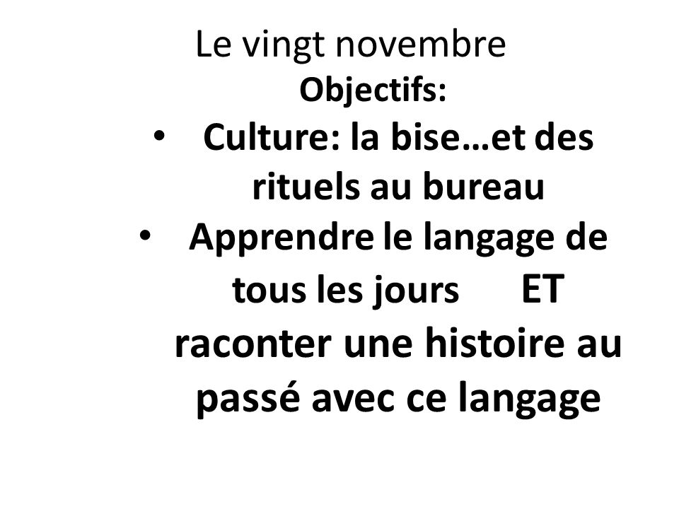 Culture: la bise…et des rituels au bureau