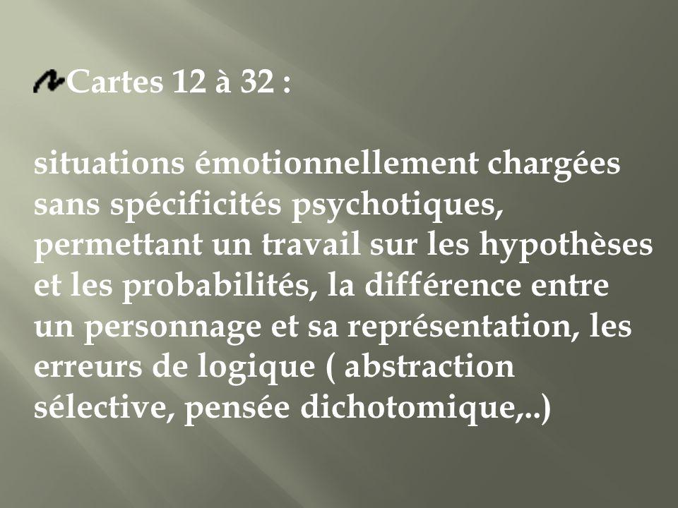 Cartes 12 à 32 :