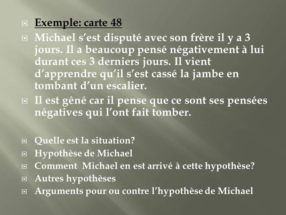Exemple: carte 48