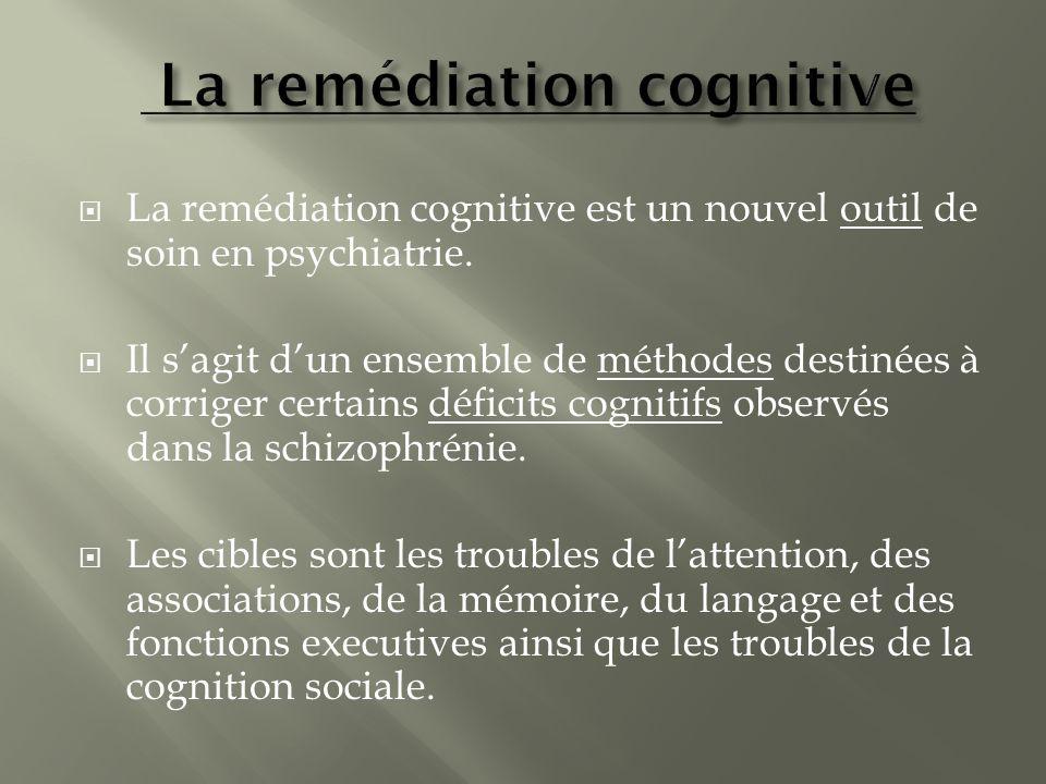 La remédiation cognitive