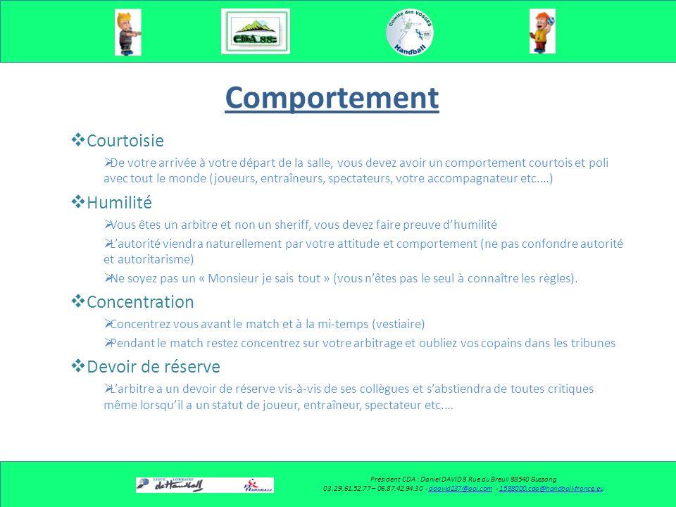 Président CDA : Daniel DAVID 8 Rue du Breuil 88540 Bussang