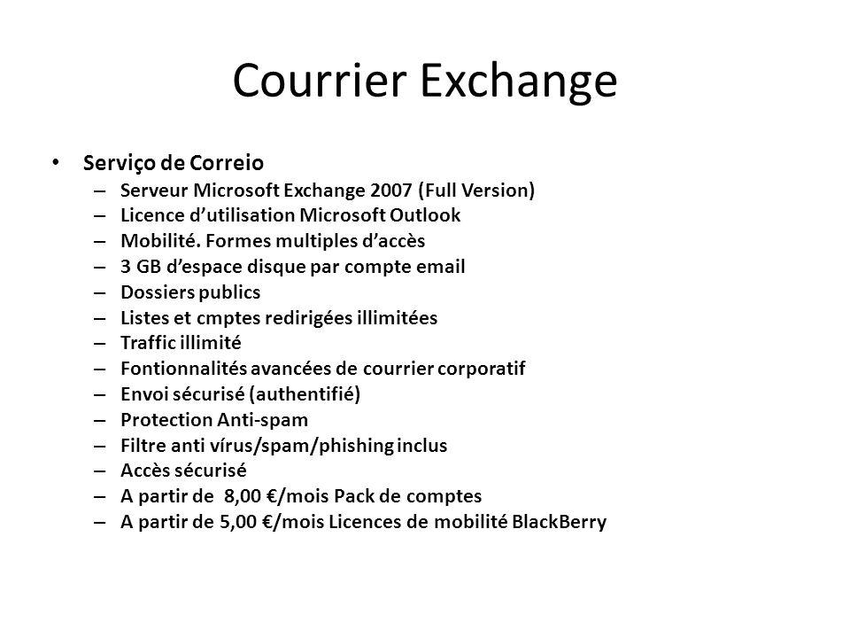 Courrier Exchange Serviço de Correio
