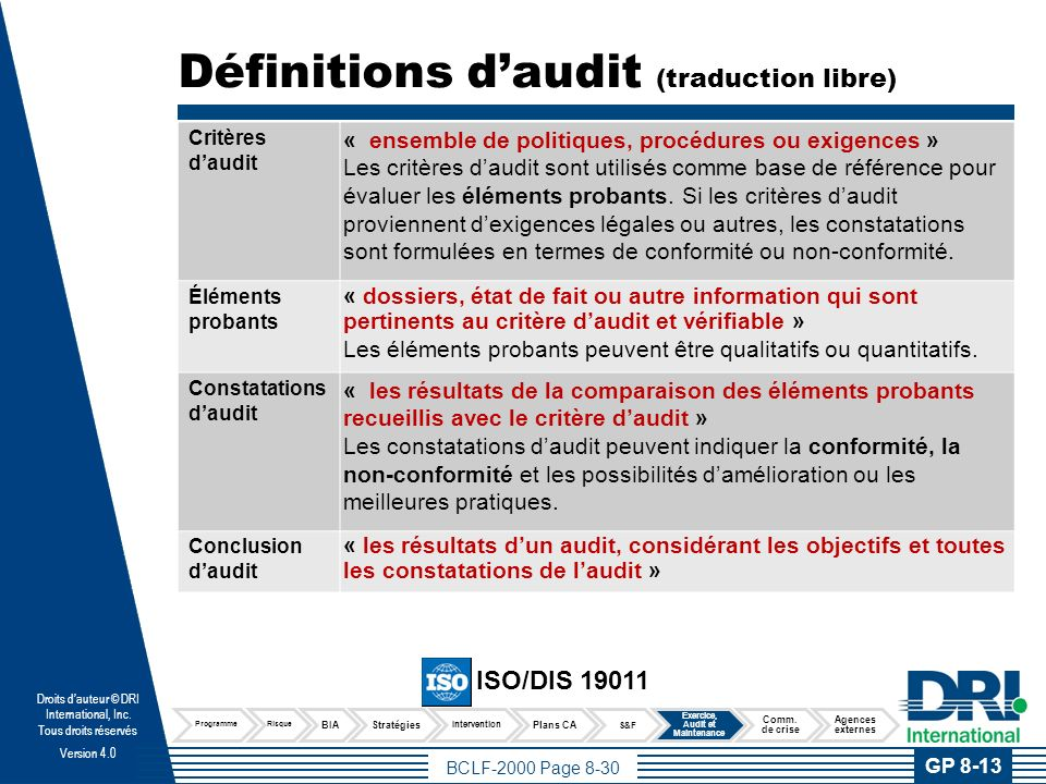 Concepts importants Les bénéfices des tests et exercices