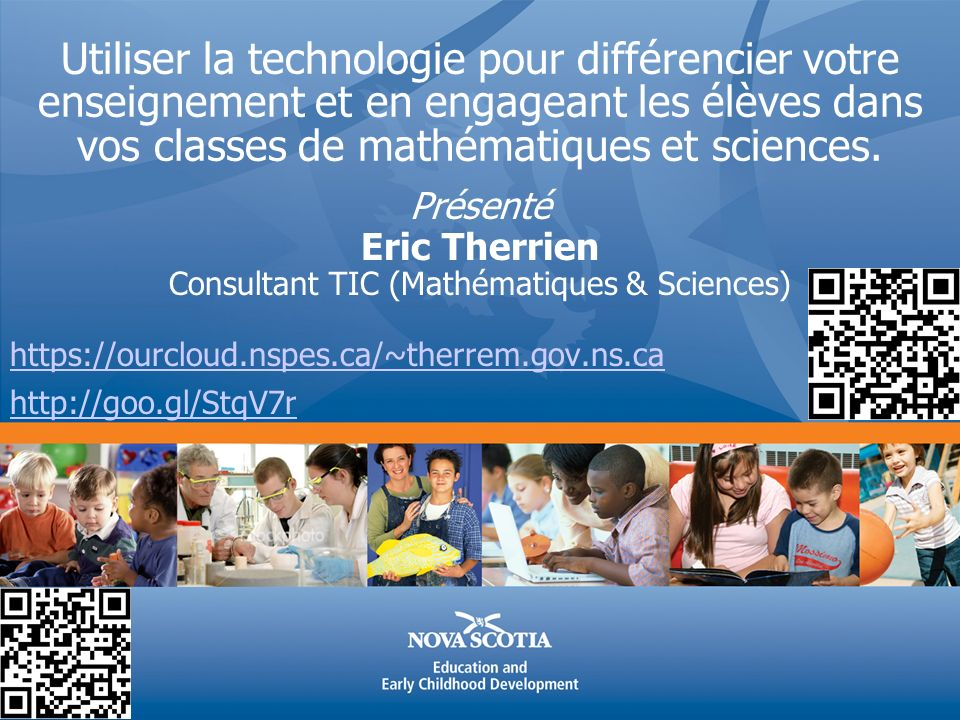 Consultant TIC (Mathématiques & Sciences)
