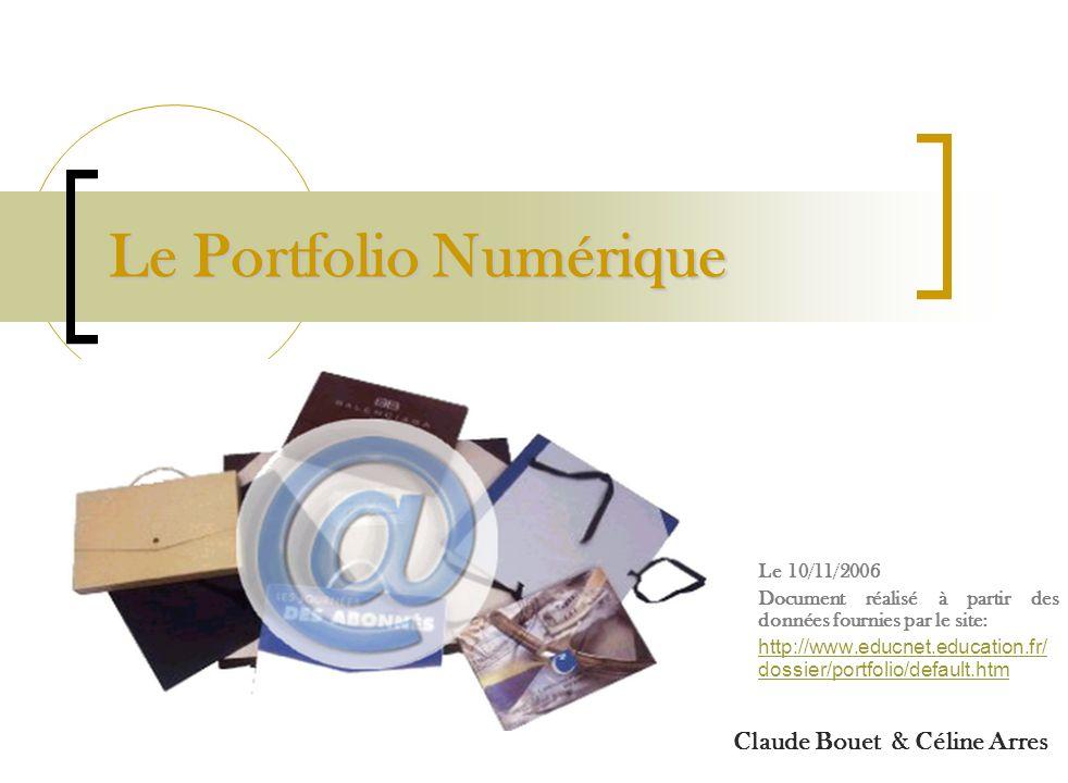 Le Portfolio Numérique