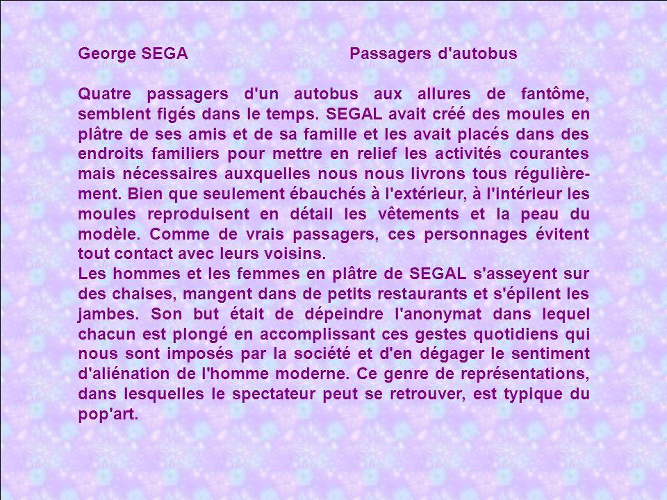 George SEGA Passagers d autobus