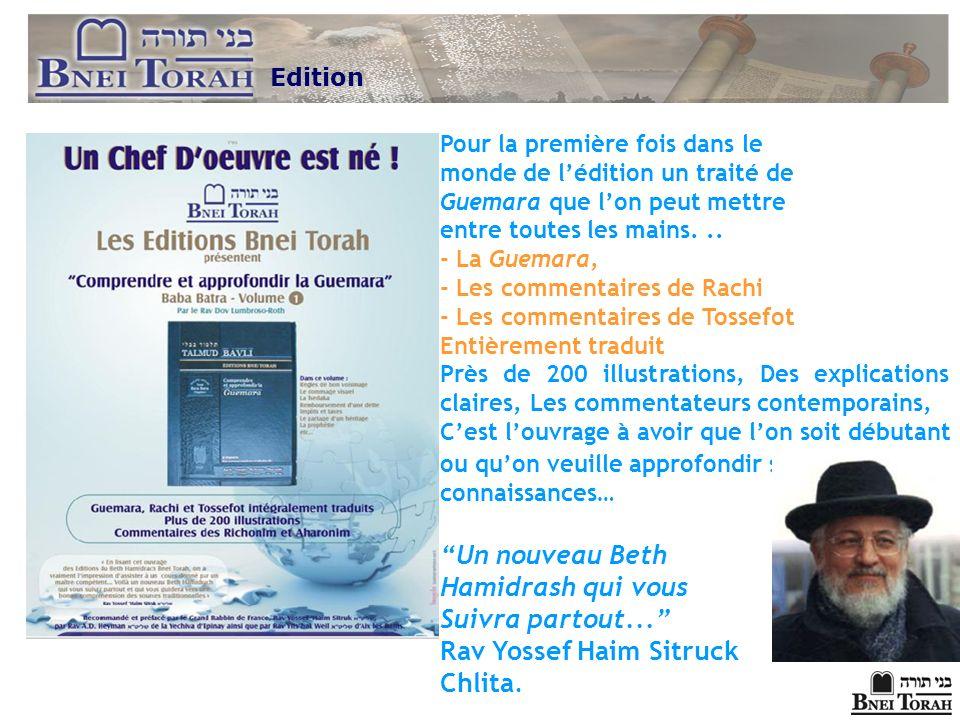Rav Yossef Haim Sitruck Chlita.