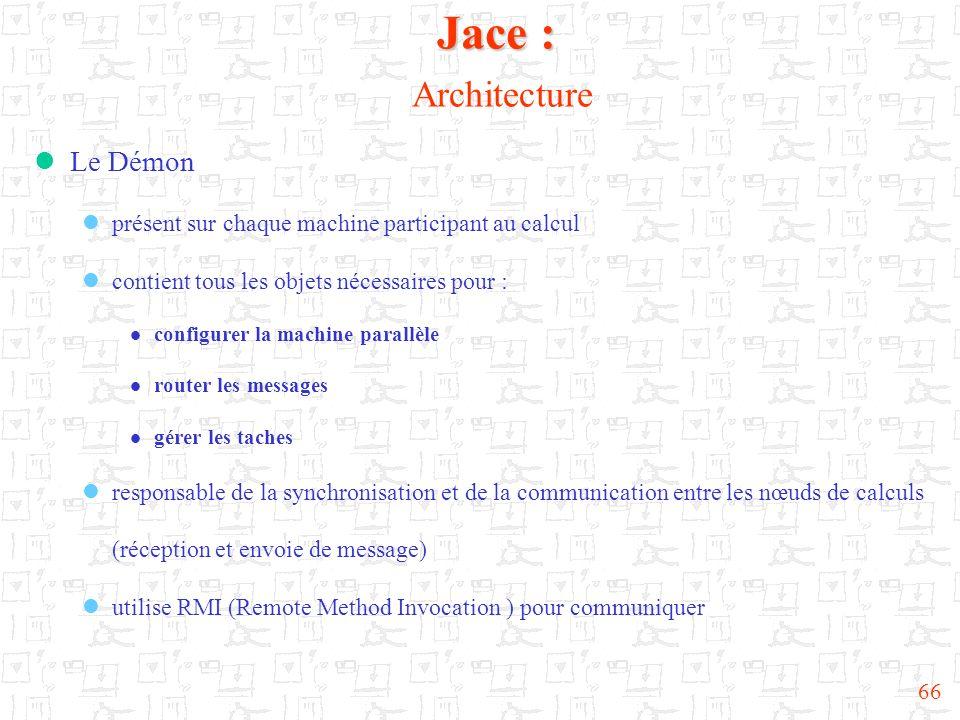 Jace : Architecture Le Démon
