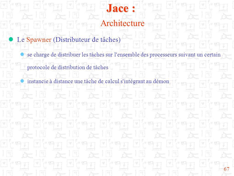 Jace : Architecture Le Spawner (Distributeur de tâches)