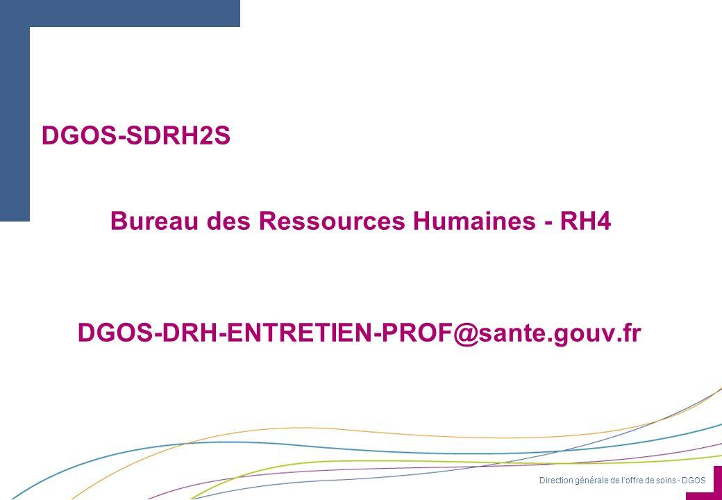 Bureau des Ressources Humaines - RH4