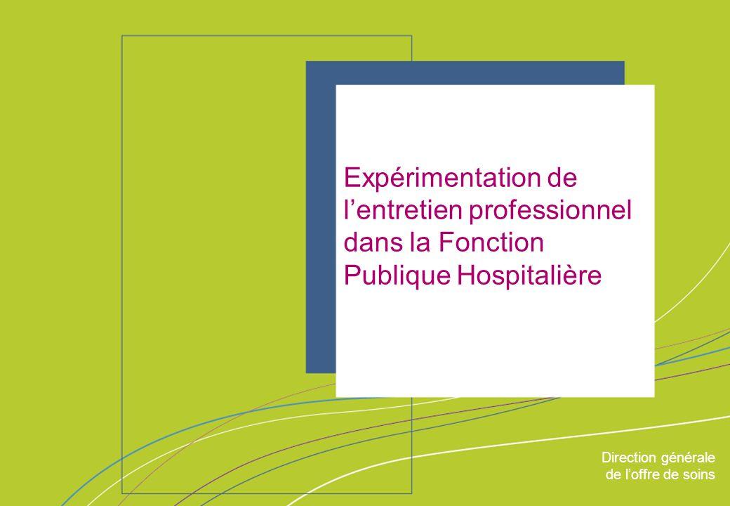 Expérimentation de l'entretien professionnel dans la Fonction Publique Hospitalière