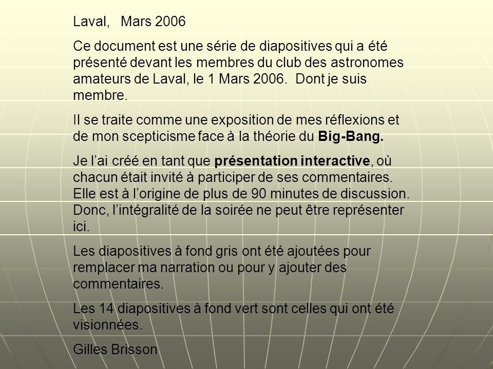 Laval, Mars 2006