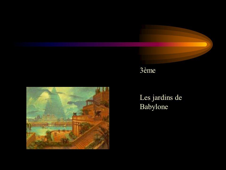 3ème Les jardins de Babylone