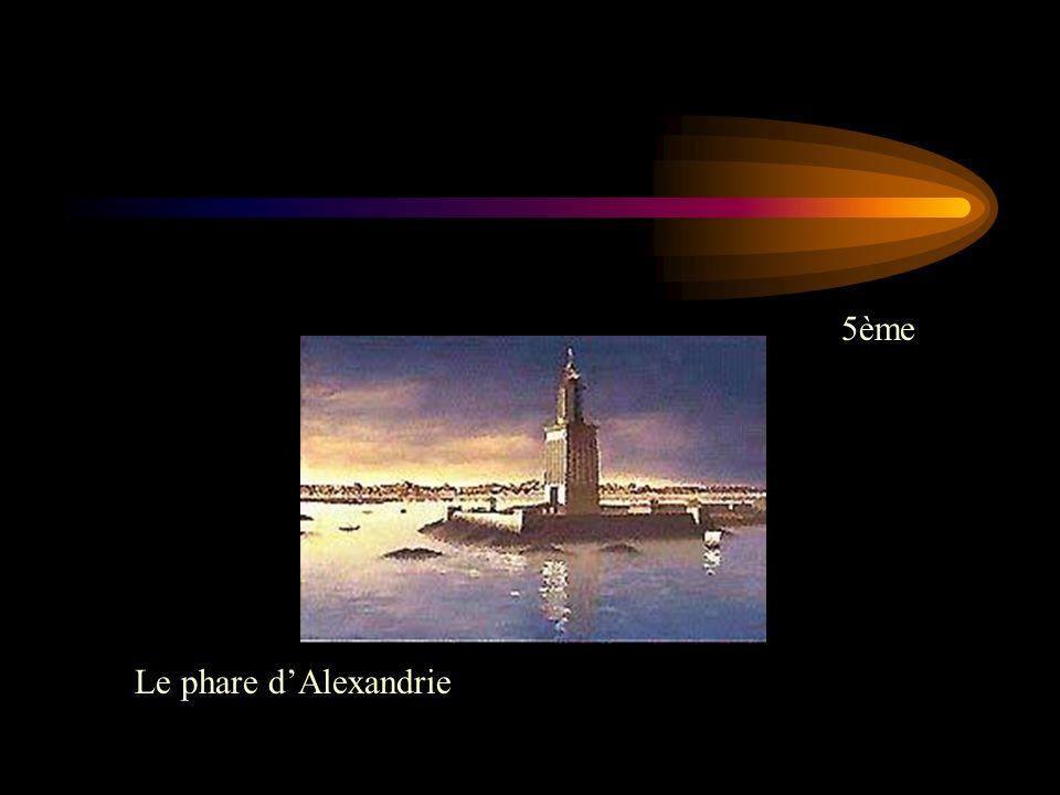 5ème Le phare d'Alexandrie