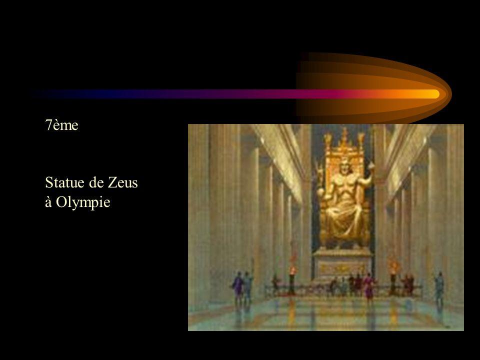 7ème Statue de Zeus à Olympie