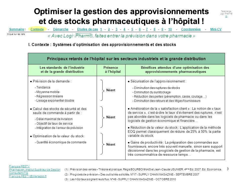 la pr u00e9vision conditionne l u2019optimisation