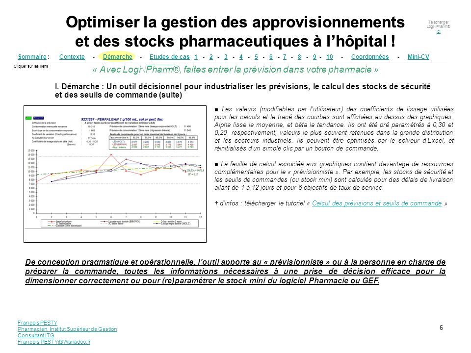 Optimiser la gestion des approvisionnements et des stocks pharmaceutiques à l'hôpital !