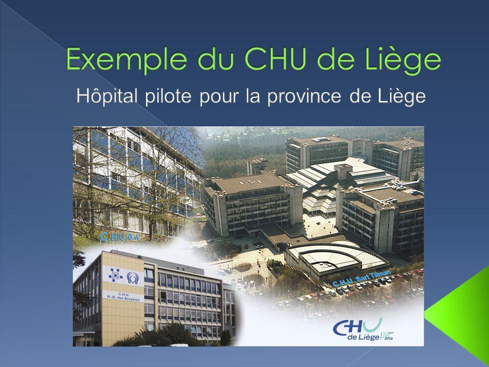 Hôpital pilote pour la province de Liège