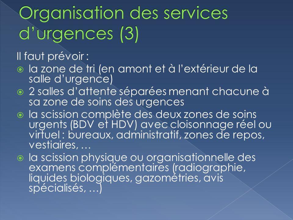 Organisation des services d'urgences (3)