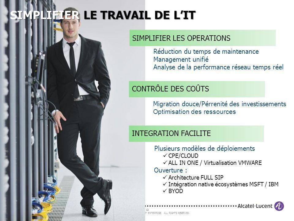 SIMPLIFIER LE TRAVAIL DE L'IT