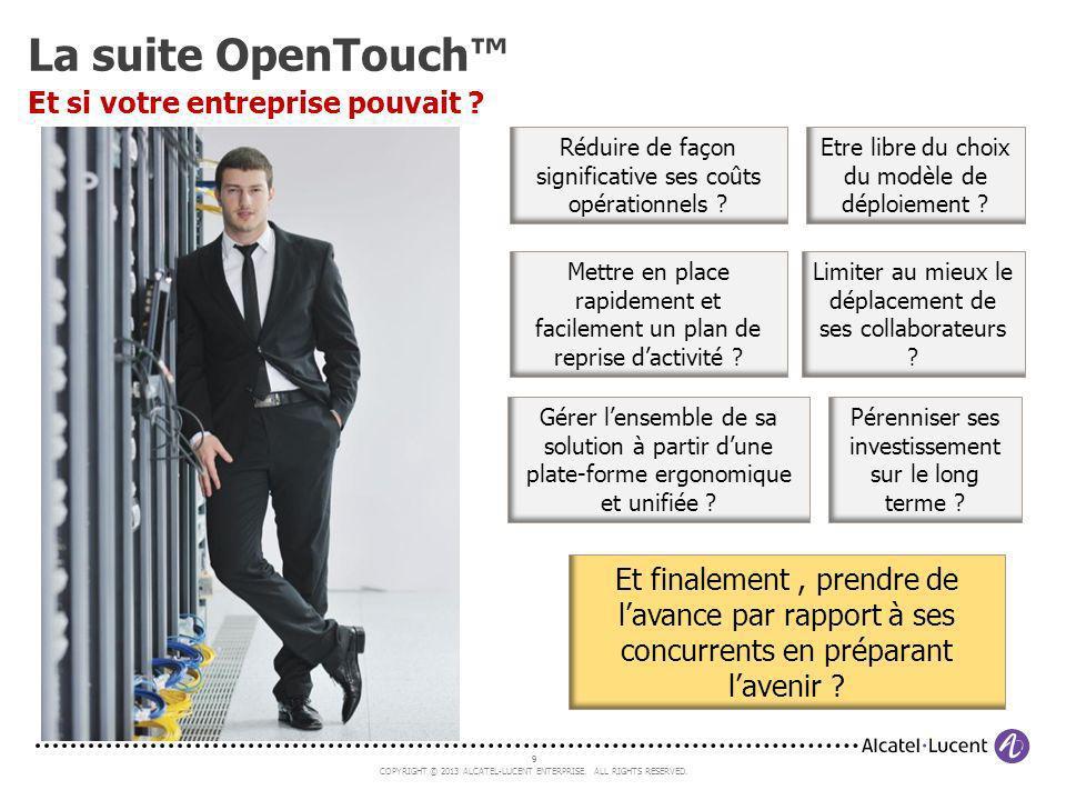La suite OpenTouch™ Et si votre entreprise pouvait