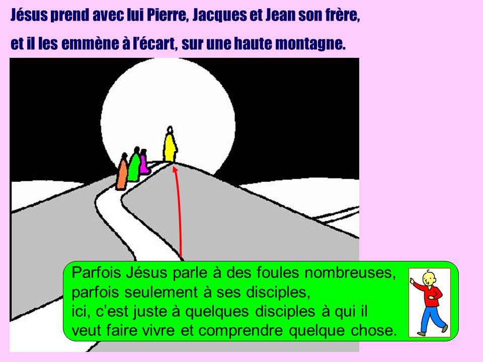 Jésus prend avec lui Pierre, Jacques et Jean son frère,
