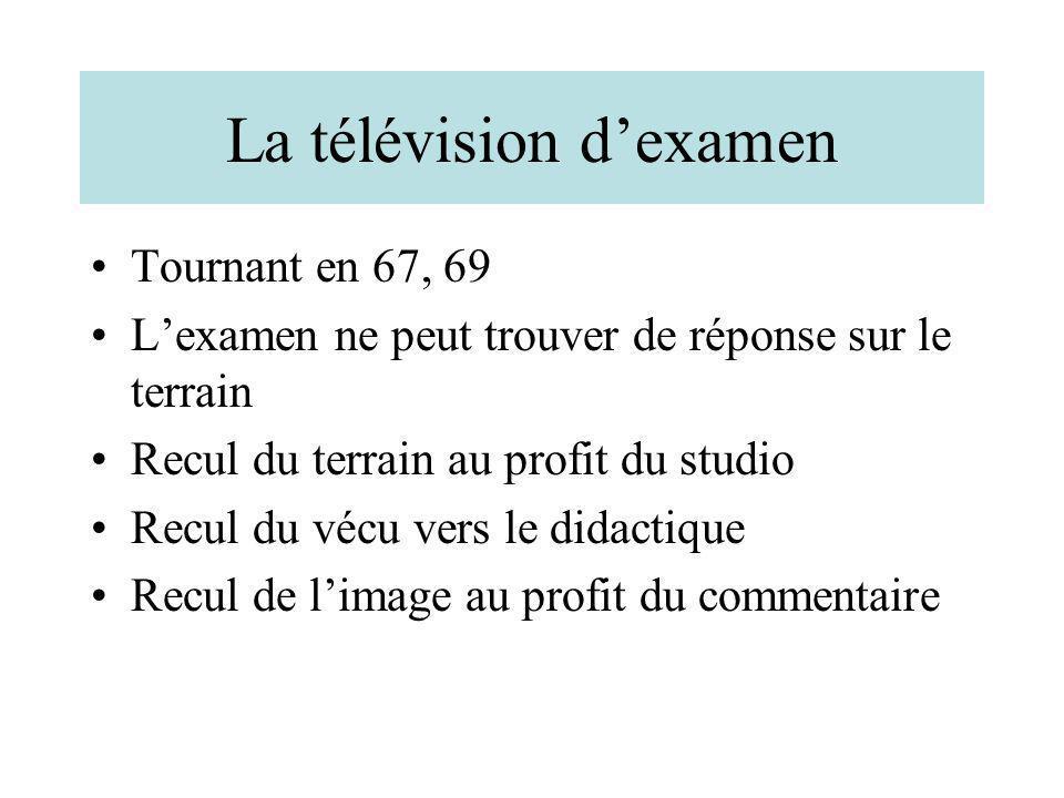 La télévision d'examen