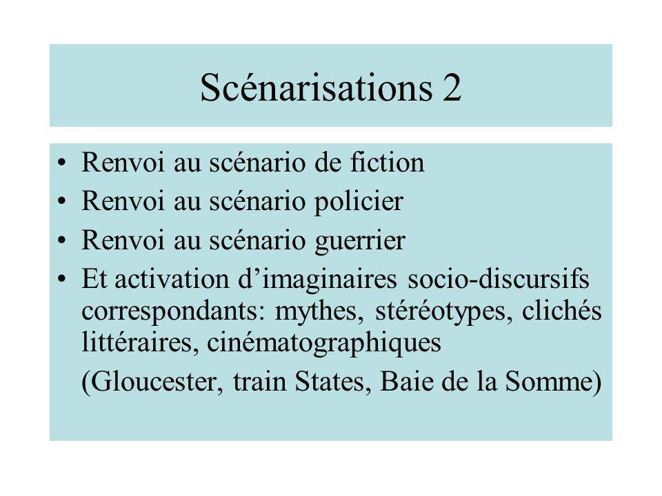 Scénarisations 2 Renvoi au scénario de fiction