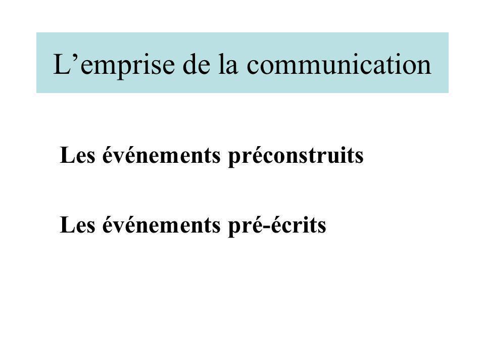 L'emprise de la communication